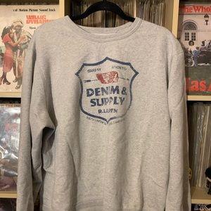 XL Ralph Lauren Denim Sweatshirt